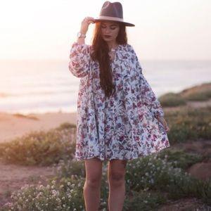 Umgee Dresses & Skirts - Floral Swing Dress