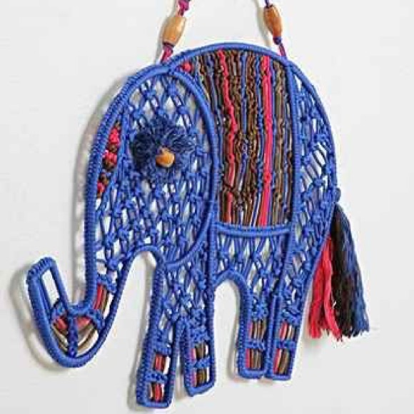 Urban Outfitters Magical Thinking Macrame Elephant. M_57a510db3c6f9f77d1007756
