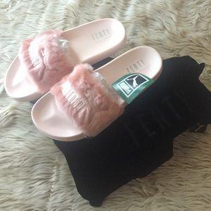 Rihanna Fenty Puma Pantofole Rosa 0riafX0