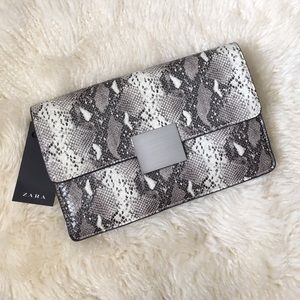 Zara Clutch animal print