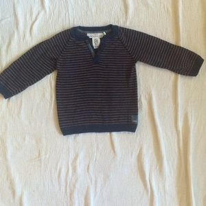 L.O.G.G 6-9 month long sleeves sweater