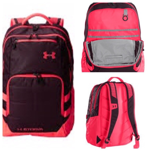 826a3032ec1a Under Armour Storm Pink Backpack Preloved. M 57a5338041b4e016b200015b