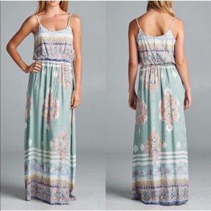 Dresses & Skirts - 🌸Print Tank dress 🌸