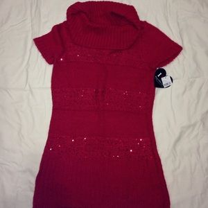 Boy + Girl Sweaters - New with tags red short sleeve sweater
