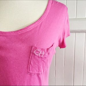Gilly Hicks Tops - Gilly Hicks crisscross back t-shirt