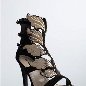 ISO TORRID Cage Wing Heels