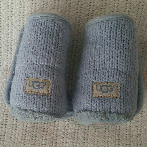 Knitted Ugg Boots Baby