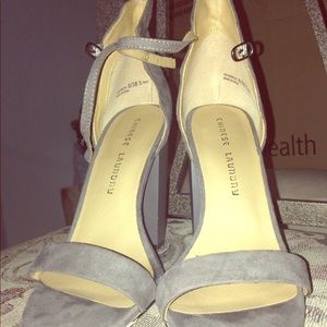 Chinese laundry chunky heels size 8