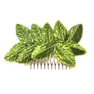 🍃Handmade Leaf Comb🌿
