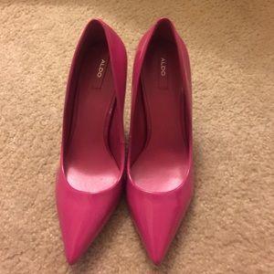 ALDO Shoes - Aldo Pink 'Stessy' heels