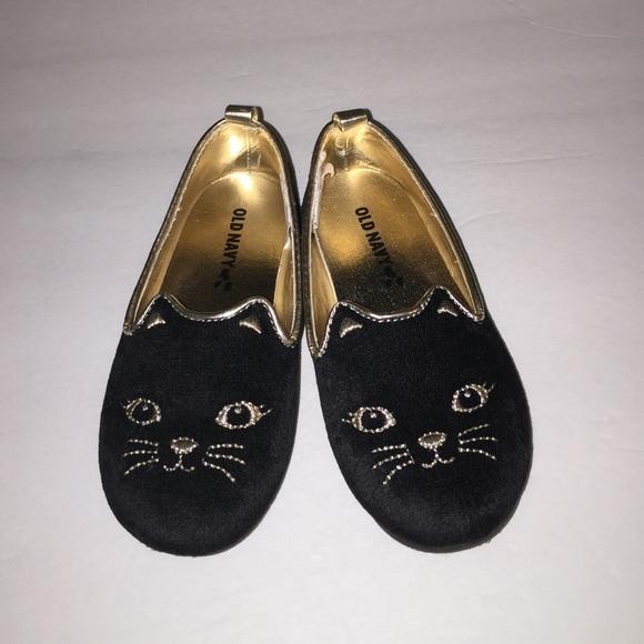 cc8a6ef29ee3 Old Navy girls shoes Sz 9 black velvet cat. M_57a572e7bcd4a76a2500a081