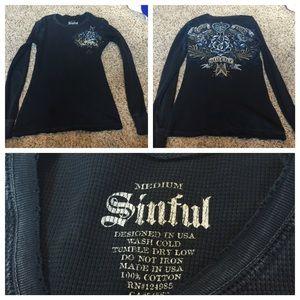 Sinful Tops - Sinful Shirt