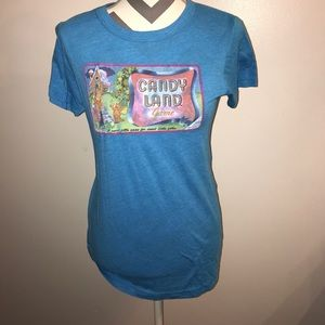 Junk Food Clothing Tops - Junk food candy land shirt