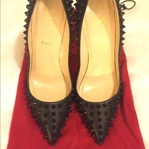 christian louboutin watersnake pigalle pumps