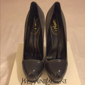 Yves Saint Laurent Tribtoo Cap Pump. Size 41.