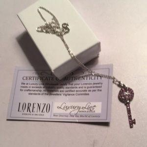 Lorenzo Uomo Jewelry - Lorenzo key necklace nwt