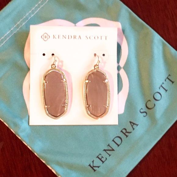 59f32ffbe Kendra Scott Jewelry   Nwt Elle Earrings In Motherofpearl   Poshmark