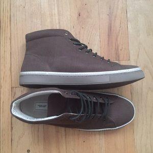 Frank & Oak Other - Frank + Oak hi top canvas shoe