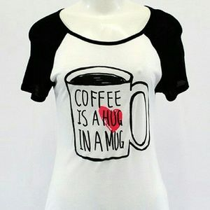 Coffee lovers Tee -- Large