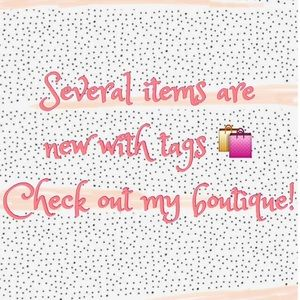 Several items NEW with TAGS! Shop Boutique