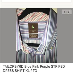 Tailorbyrd Other - Tailorbyrd Like New Dress Shirt