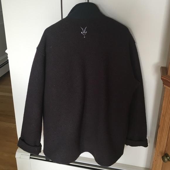 Jackets Coats Ibex Boiled Wool Mens Jacket Poshmark