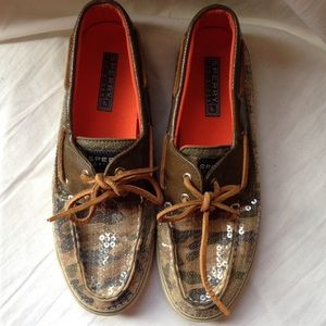 Sperry's Top Sider. Rare camo. Size 7 1/2