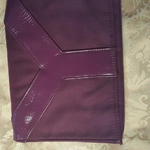 ysl clutch purple