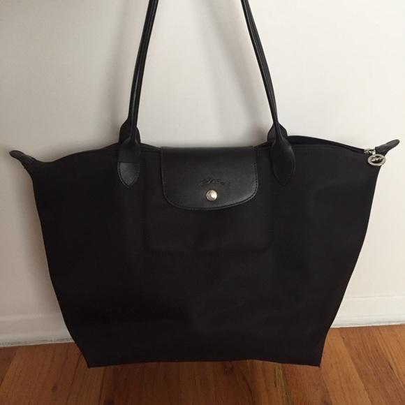 a074e58217 Longchamp Handbags - Longchamp Large Planetes Tote Bag All Black