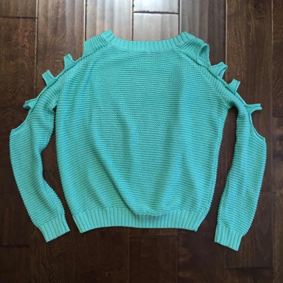 Arm Knitting Cardigan : Off nasty gal sweaters quot sweet shreds arm