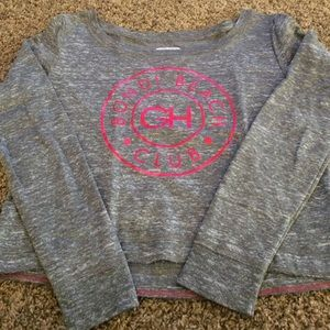 Gilly hicks cropped sweater size S