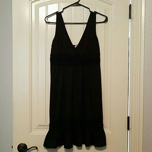Black dress from Charming Charlie