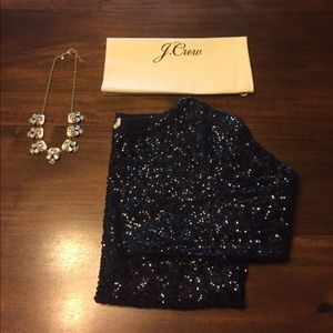  listing - J.Crew sequin top