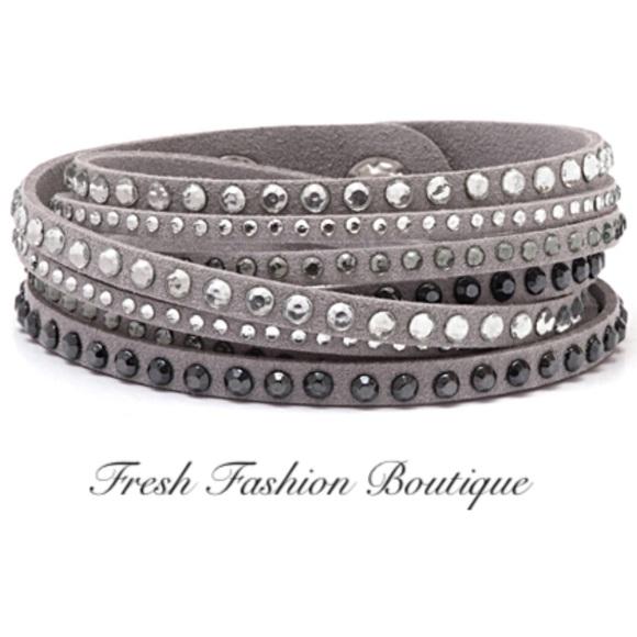 0400274b4 Fresh Fashion Boutique Jewelry | Barzel Crystal Wrap Bracelet | Poshmark