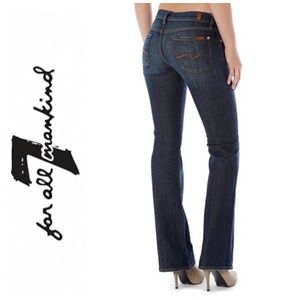 7 for all mankind jeans (size 26)