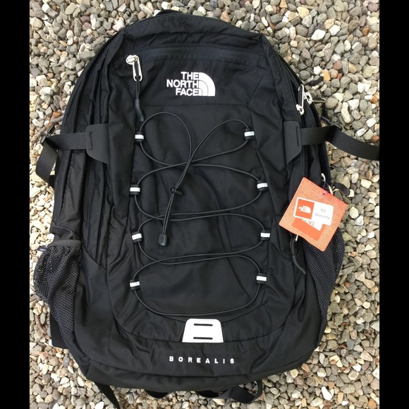 a437617c24a6 North Face men s unisex Borealis backpack Blk new