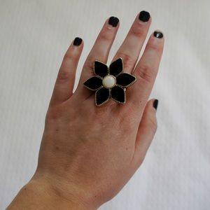 Betsey Johnson Daisy Ring