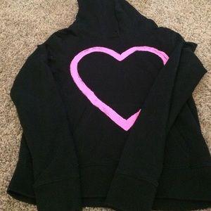 VS pink hoodie size M