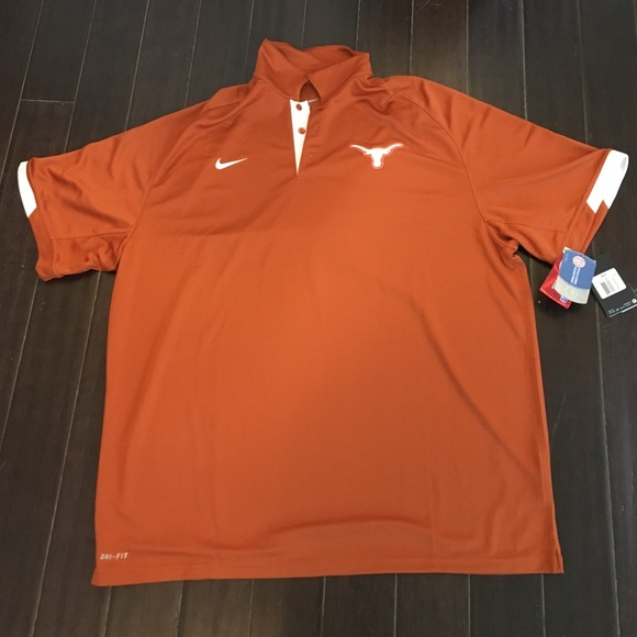 865d6a4c5 Men s Nike Dri-Fit Texas Longhorns polo