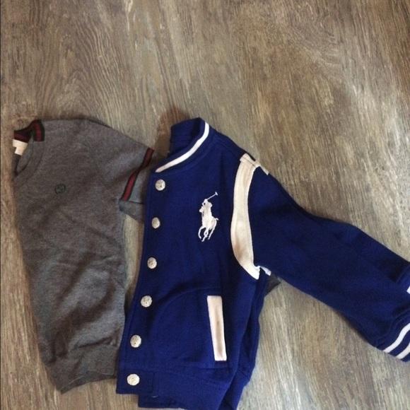 ee5acef96 Gucci Jackets & Coats | Bundle Kids Sweater And Polo Jacket | Poshmark