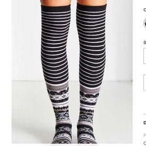 3018d8b7787 Urban Outfitters Accessories - New UO Winter Fair Isle OTK Socks