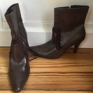 Brown Merona heel boots