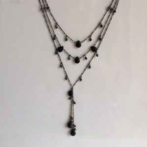 Adia Kibur Jewelry - Aida Kibur Drop Necklace