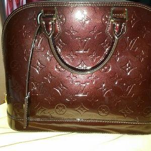 Louis Vuitton Alma PM Monogram Vernis Leather