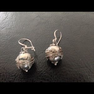 Jewelry - Silver Bali earrings