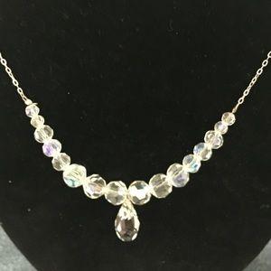 Swarovski Crystal Elements Jewelry - 🎈SALE Crystal droplet necklace [JW-99]