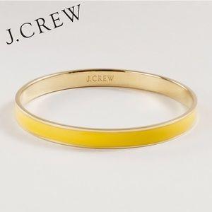 ⭐️HP⭐️ J. Crew Yellow Enamel Bracelet