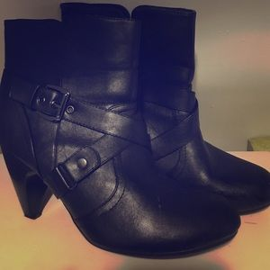 Leather lane Bryant bootie
