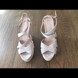 03e68254caf Pura Lopez Shoes - EXCELLENT CONDITION PURA LOPEZ suede wedge sandal