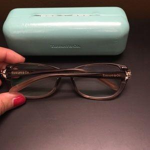f44ece52a08 Tiffany   Co. Accessories - Tiffany eyeglass frame with Swarovski crystal